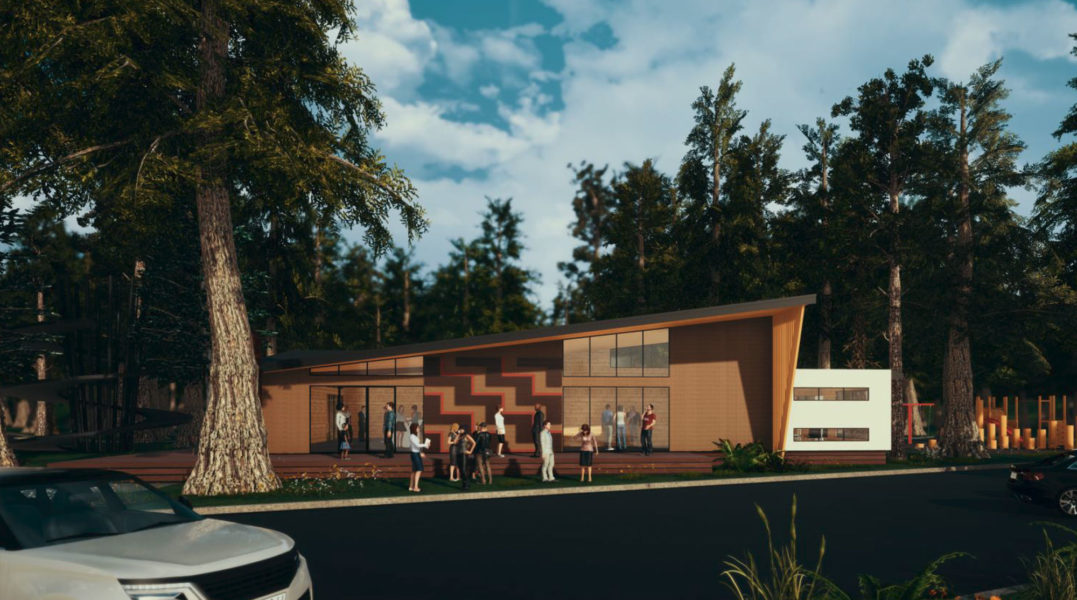 Long Mile Road Visitor Centre – Concept Design image 1