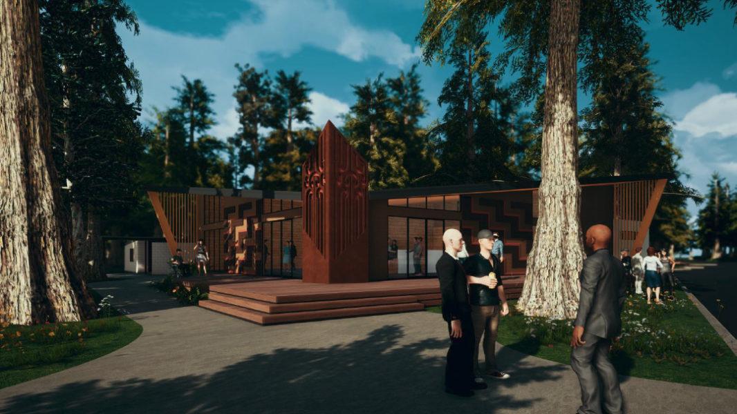 Long Mile Road Visitor Centre – Concept Design image 4